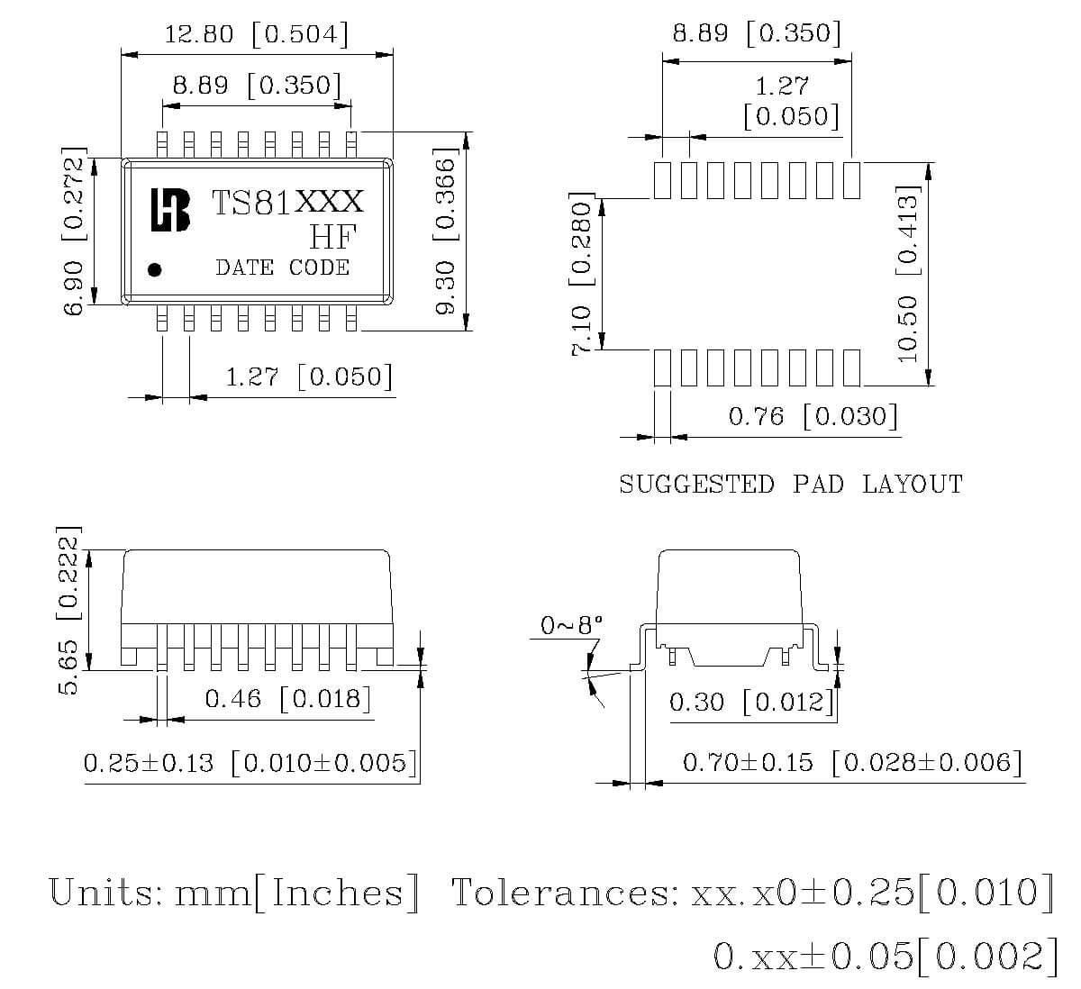 ts81xxx hf series mechanical