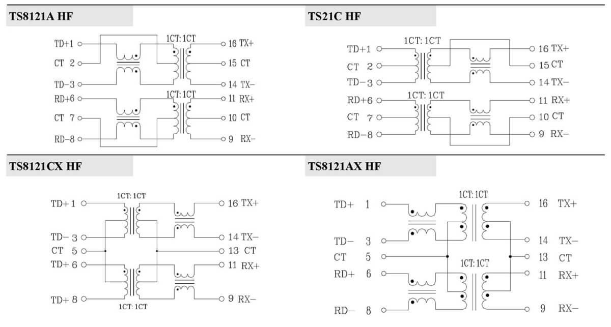 ts81xxx hf series schematic